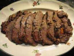carne de vaca asada
