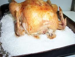 gallina a la sal