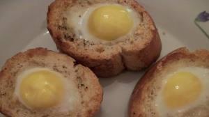 huevos con tostadas